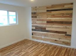 We're scratching our heads a bit at this reclaimed wood accent wall in a  Seattle rentalIs it still an effective accent wall if it kind of goes with  the ...