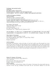 Kitchen Resume Template Tfei Info