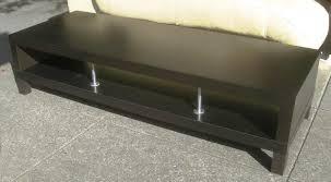 image of ikea black coffee table