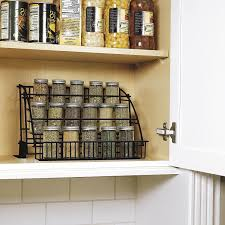 A pull-down spice rack for double checking you're grabbing the bottle of  cumin, even though you *already know* it's on the third row, second from  the left.