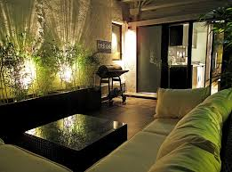 living room cool tropical themes living room ideas with amazing recessed indoor garden lighting also