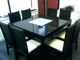 8 seater square dining table and chairs for enchanting sets ideas best image