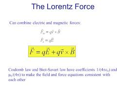 the loz force can combine electric and magnetic forces