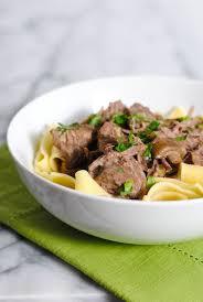 slow cooker beef stroganoff fo