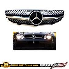 It is equipped with a 6 speed automatic. C55 Amg Black Grille Style Star Emblem Bumper 2005 2006 2007 Mercedes Benz New Ebay