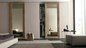 image mirrored sliding. Attractive Mirrored Sliding Closet Doors For Bedrooms And Mirror Door Collection Pictures Image