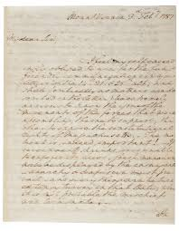 george washington discusses shays rebellion and the upcoming george washington to henry knox 3 1787 gilder lehrman collectio