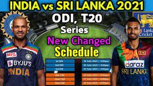 India vs Sri Lanka ODI and T20 Series ...