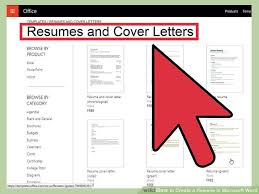 Manificent Design How To Create A Resume On Word Without A Template