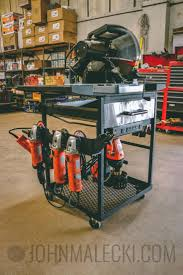 building the ultimate metal tool cart