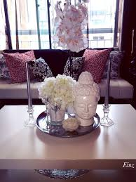 white silver coffee table decor hydrangeas orchids buddha head of gl coffee table decorating ideas new modern white lacquer arrow furniture home