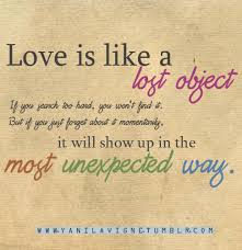 Unexpected Love Quotes Adorable Unexpected Love Quotes Tumblr The Holle