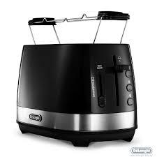 <b>Тостер DeLonghi CTLA 2103</b> BK купить в интернет-магазине ...