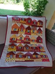 460 best House quilts images on Pinterest | Patchwork ... & House quilt at Crayon and Pencil patchwork Adamdwight.com