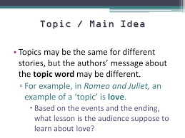 Theme Statements Ppt Video Online Download