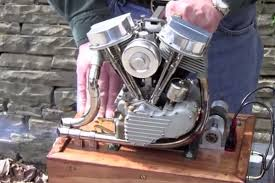 what would you do with a 2 5 scale running panhead engine