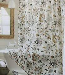 gold and cream shower curtain. target home tan multi jacobean gold gray khaki brown fabric shower curtain and cream r