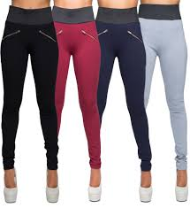 Details About Womens High Waist Leggings Trousers Ladies Sexy Casual Stretch Skinny Pants