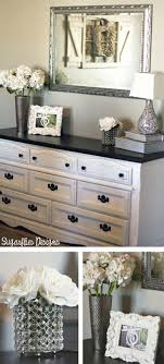 Refinishing Bedroom Furniture Ideas Love These Colors With The Silver Detailed Mirror Above Dresser IdeasDresser Top DecorBedroom Refinishing Bedroom Furniture Ideas R