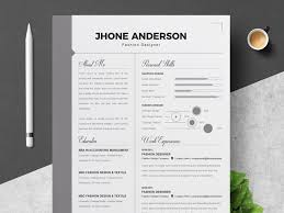 Modern Word Resume Template Infographic Word Resume Template By Resume Templates On Dribbble