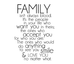 Family Isn T Always Blood Quotes Delectable Quotes About Family Not Always Being Blood