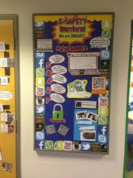 Display Board Design Online E Safety School Displays Computing Display Teaching Displays