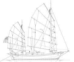 consider the junk rig 32 tahiti ketch junk rig kasten marine design inc