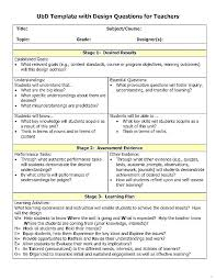 Lesson Plan Template Templates Teacher Enticing Blank In For ...