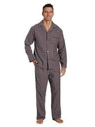 Noble Mount <b>Twin</b> Boat <b>Men's 100</b>% <b>Cotton</b> Flannel Pajama Set at ...