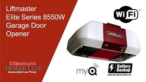 garage door liftmasterLiftmaster Elite Series 8550W Garage Door Opener  918234DOOR or
