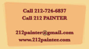 painting contractor nyc dial 212 painter