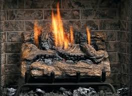 gas fireplace logs vent free vent free fiber split oak log set with natural gas log gas fireplace logs vent free