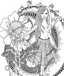 Small Picture Coloring Pages Graceful Hippie Coloring Pages Adult Archives