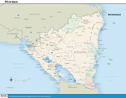 printable travel maps of nicaragua  moon travel guides