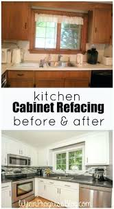 cabinet refacing before and after kitchen cabinet refacing the process cabinet refinishing diy kit