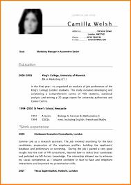 13 Curriculum Vitae Sample For Students Pdf Hvac Resumed