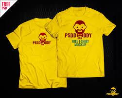 Mock Up Tshirt T Shirt Mock Up Free Psd Download Uxfree Com