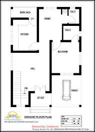Small Picture House Plan And Elevation 1700 Sq Ft Kerala Home Design And Floor