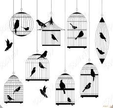 鳥籠シルエットベクトル素材png素材psdaiepsデザイン素材
