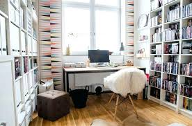 trendy home office. Trendy Wallpaper For Home Office Room  Design Ideas Geometric Pattern The .