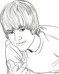 Small Picture Justin Bieber Coloring Pages Print Inside Amazing For To ijigenme