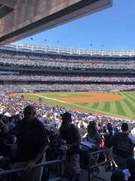 New York Yankees Stadium Seating Chart Yankee Stadium Section 110 Row 26 Home Of New York