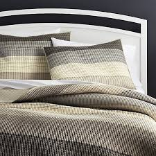 Sedona Grey Quilts and Pillow Shams | Crate and Barrel & Sedona Grey Quilts and Pillow Shams Adamdwight.com