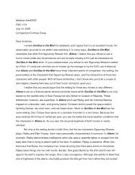 example of compare essay superman and batman comparison and  cover letter comparison contrast essay examples template ideas for compare essayexample of contrast essay extra medium