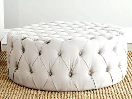 fashionable round tufted ottoman tufted ottoman coffee table large round tufted ottoman coffee table black round storage tufted ottoman bench diy