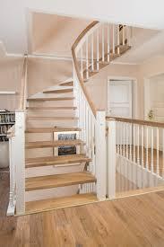Handlauf holz für treppen und geländer. Freitragende Treppen Schwerelose Leichtigkeit Treppenbau Voss