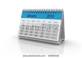 2010 Calendar January 3d Render Of The January 2010 Calendar Ez Canvas