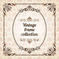Vintage frame design oval Celtic Border Retro Frames Oval And Square Curly Vintage Elements Vector Image Vector Illustration Of Click To Zoom Rf Clipart Retro Frames Oval And Square Curly Vintage Elements Vector