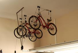 awesome images of diy hanging bike rack best home plans and