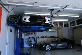garage inside with car. Residential Garage Car Lift 2 Posts Lifts Should I Worry Viper Club Of Discussion Forums Inside With W